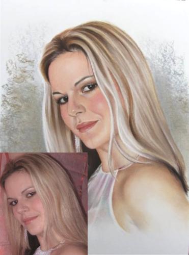 portraits pastell portraits abstrakte und realistische malerei. Black Bedroom Furniture Sets. Home Design Ideas